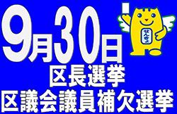 2018年9月30日區長選舉旗幟