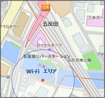 能使用五反田河车站区域
