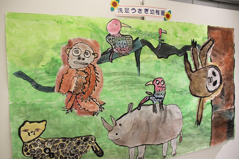 O美術館で私立幼稚園「幼児画展」を開催|品川区