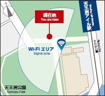 Use of Tennozu Park possibility area